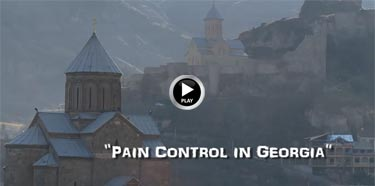 14. Pain Control in Georgia, Life before Death